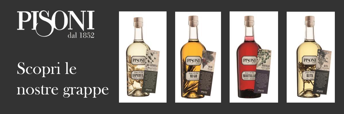 grappe aromatizzate Pisoni