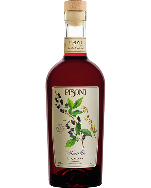 liquore al mirtillo pisoni